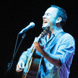Seattle star Dave Matthews breaks down on stage during a previous attempt to quit pot.