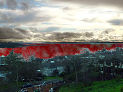 The Puget Sound runs red with blood, ravaged by hostile invading species.