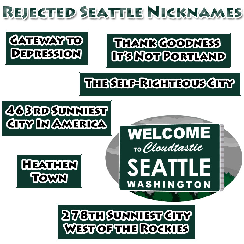 rejected seattle nicknames the naked loon. Black Bedroom Furniture Sets. Home Design Ideas