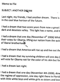 Dan Rather Uncovers Martin Luther King Jr. Memo Endorsing Obama by Name