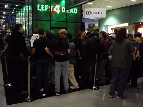 Left 4 Dead Line