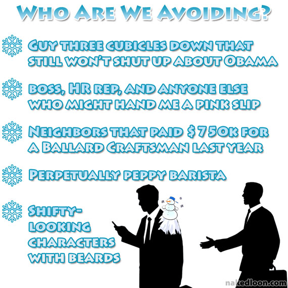 Who Are We Avoiding?