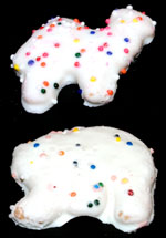 Top: Mother's Circus Animals | Bottom: Keebler Animals Cookies Frosted